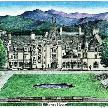 Biltmore Estate Drawings