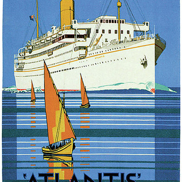 Classic Cruise Ship Posters