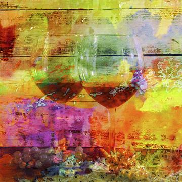 Wine Art Digital Photography