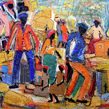 Eli Kobeli Soweto School of Art Collection