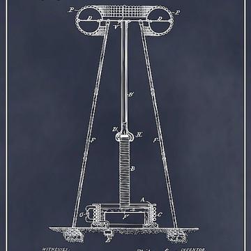 Famous Inventors Patent Prints