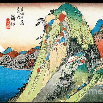 Hiroshige Wood Block Prints