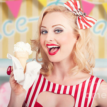 Commercial - Ice Creamery Art