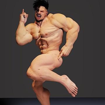 Male Nude - Bodyscape - NUDE