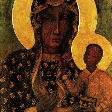 Polish Madonnas and catholic art