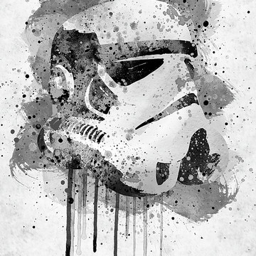 Star Wars watercolor art