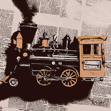 Commercial - Train Station Art