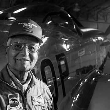 Tuskegee Airman - Red Tail - Colonel Charles McGee