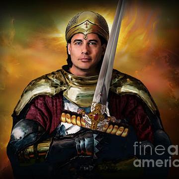Warrior of Christ Series - Paintings