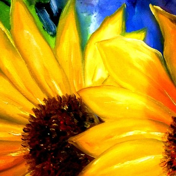 2017 Flowers Paintings and Photo