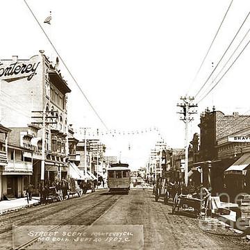 Monterey California 20th century