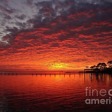 366 Navarre Beach Sunrise and Sunset Wallpaper CD Photos Collection