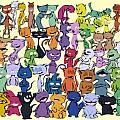 50 Happy Cats Collection