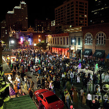 6th Street - Austin Live Music Capitol & Entertainment Bar District Print Image Gallery
