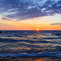 8.08.13 Sunrise Over Lake Michigan North of Chicago Collection