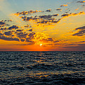 8.10.13 Sunrise Over Lake Michigan North of Chicago Collection