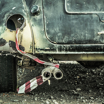 Abandoned and old cars