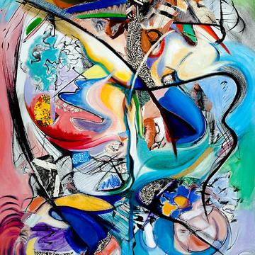 Abstract Art by Kerryn Madsen-Pietsch Collection