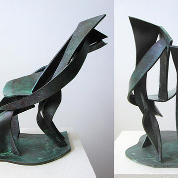 Abstract Bronze Sculptrures Collection