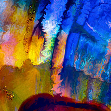 Abstract Digital Artwork Collection