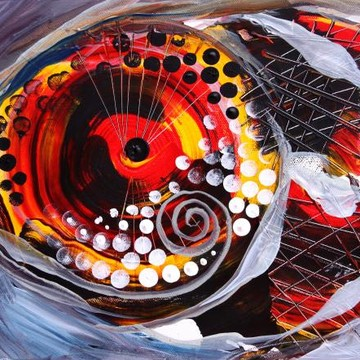 Abstract Fish Art Collection