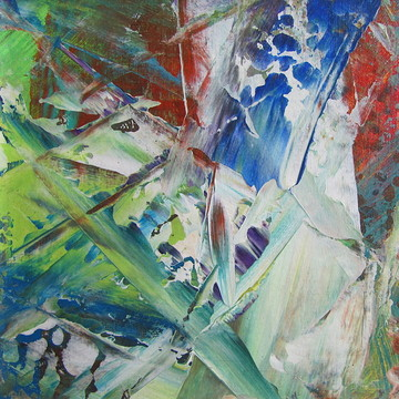 Abstract Paintings Close ups Collection