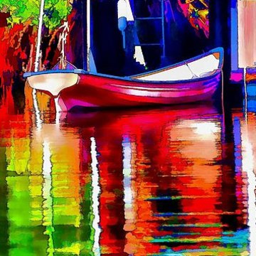 Abstract Surreal And Impressionist
