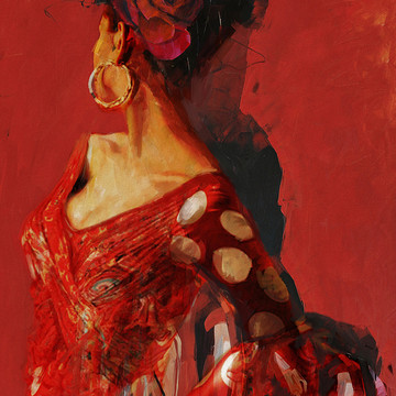 Abstract Women Art Collection
