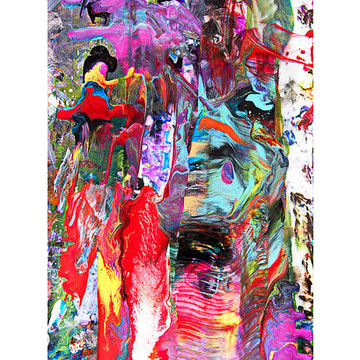 Accidental and Radical Abstract Artworks