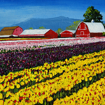 Acrylic Landscapes Collection