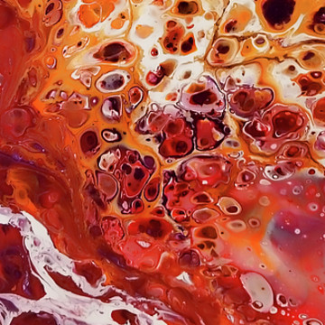 Acrylic Pour Images Collection