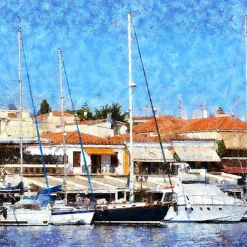 Aegina island paintings Collection