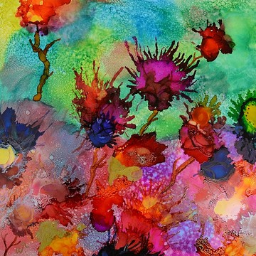 Alcohol  Ink Collection