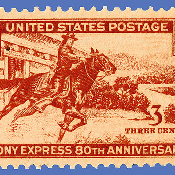 American Postage Stamp Art Collection