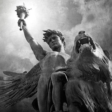 Angels and Sculptures in Black and White Collection