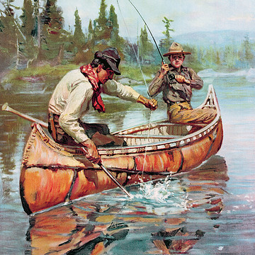 Angling Artwork Collection Collection