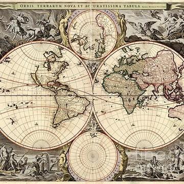 Antique Maps Collection