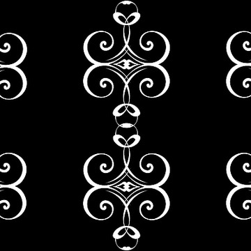 Art Deco Victorian Scrollwork Collection