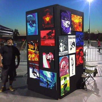 Art Show Set Ups    Workspaces  Collection