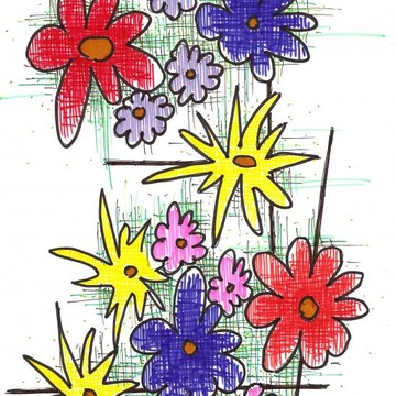 Artist Marker Drawings