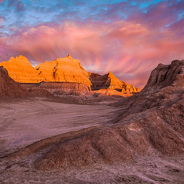 Badlands Landscapes