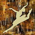 Ballerina Silhouettes Watercolor Abstracts Art Prints Gallery 6 of 7 Collection