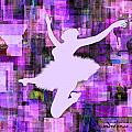 Ballerina Silhouettes Watercolor Abstracts Art Prints Gallery 7 of 7 Collection