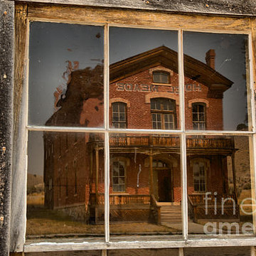 Bannack State Park In Montana Collection