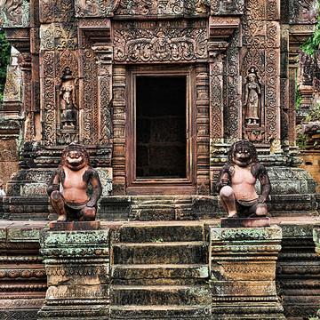 Banteay Temple Cambodia Collection