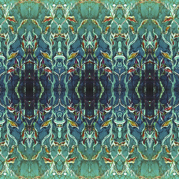 Batik REPEAT PATTERNS for ART LICENSING and also  LARGE SCALE WALL ART