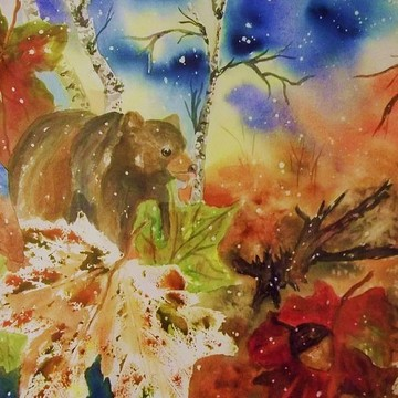 Bear Paintings Collection
