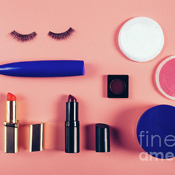 Beauty make-up cosmetics Collection