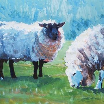 Best Selling Sheep Paintings Collection