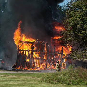Bfd Hubbard Road Barn Fire Collection